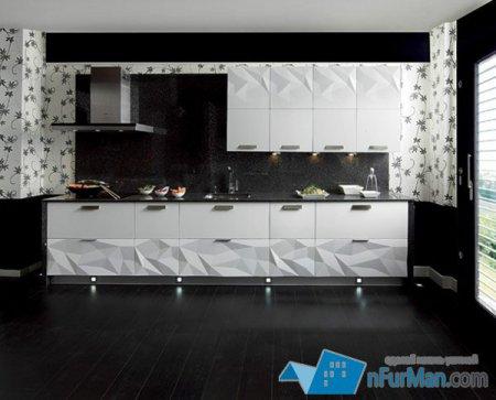 Оригамная кухня Artica Kitchen