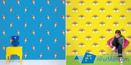 Wall Candy Arts рекомендует необычные обои для детских комнаток