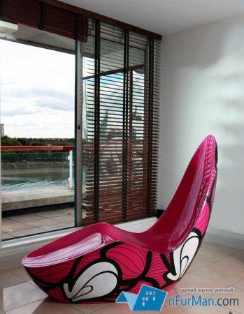 Оригинальные кресла для молодежной квартиры
